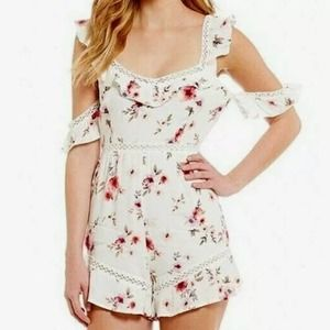 Foxiedox floral romper size small